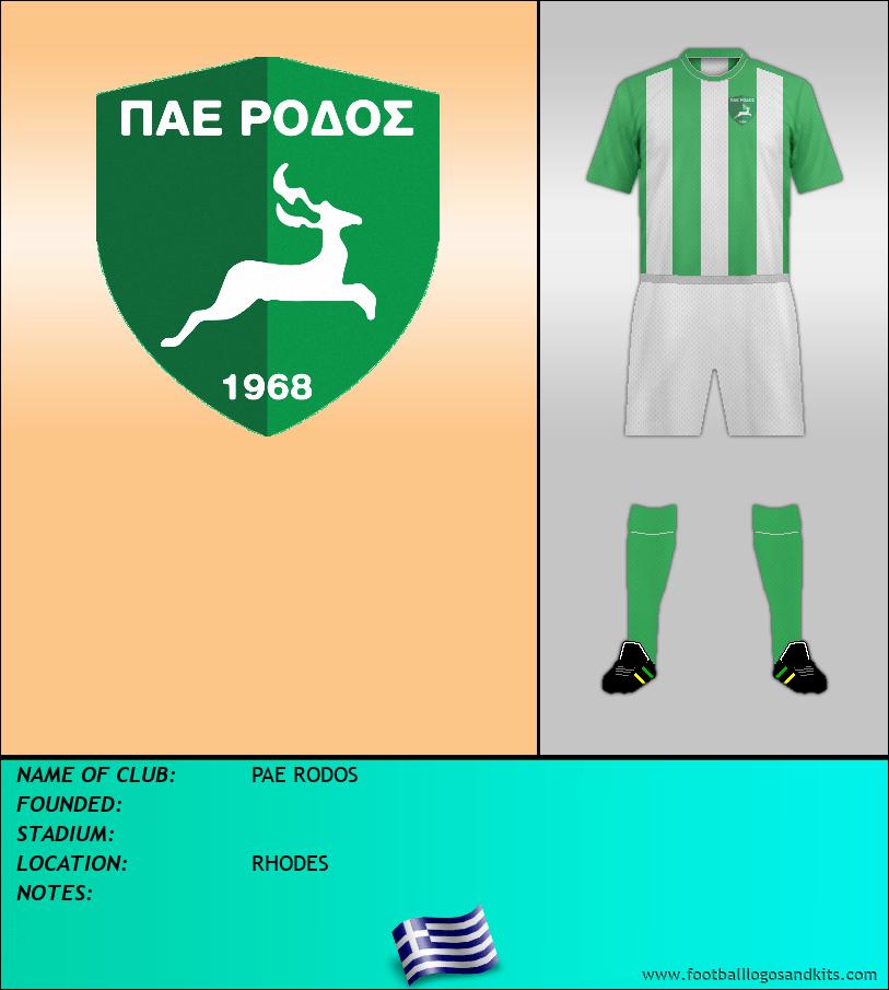 Logo of PAE RODOS