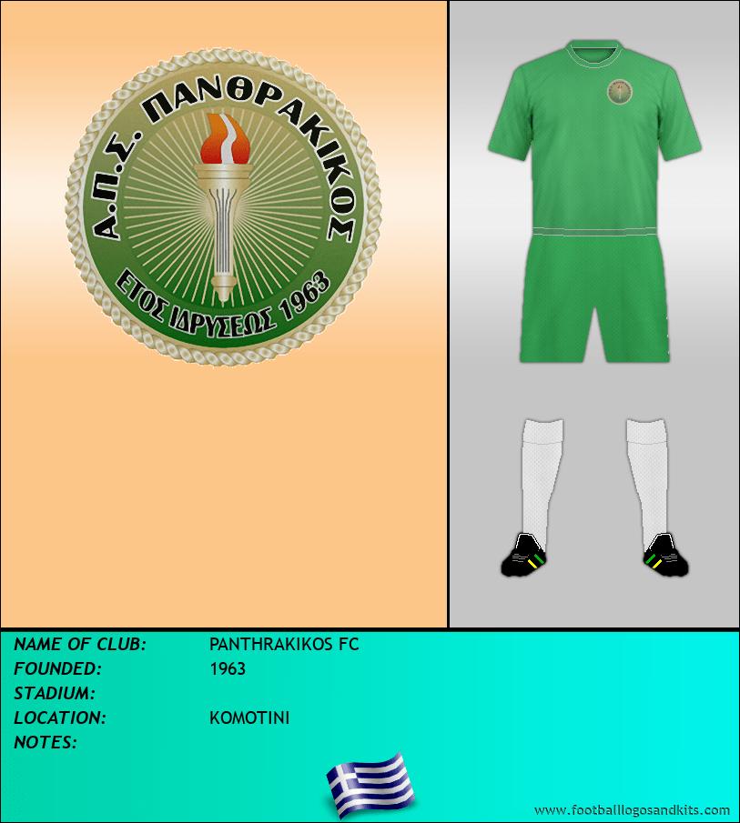 Logo of PANTHRAKIKOS FC