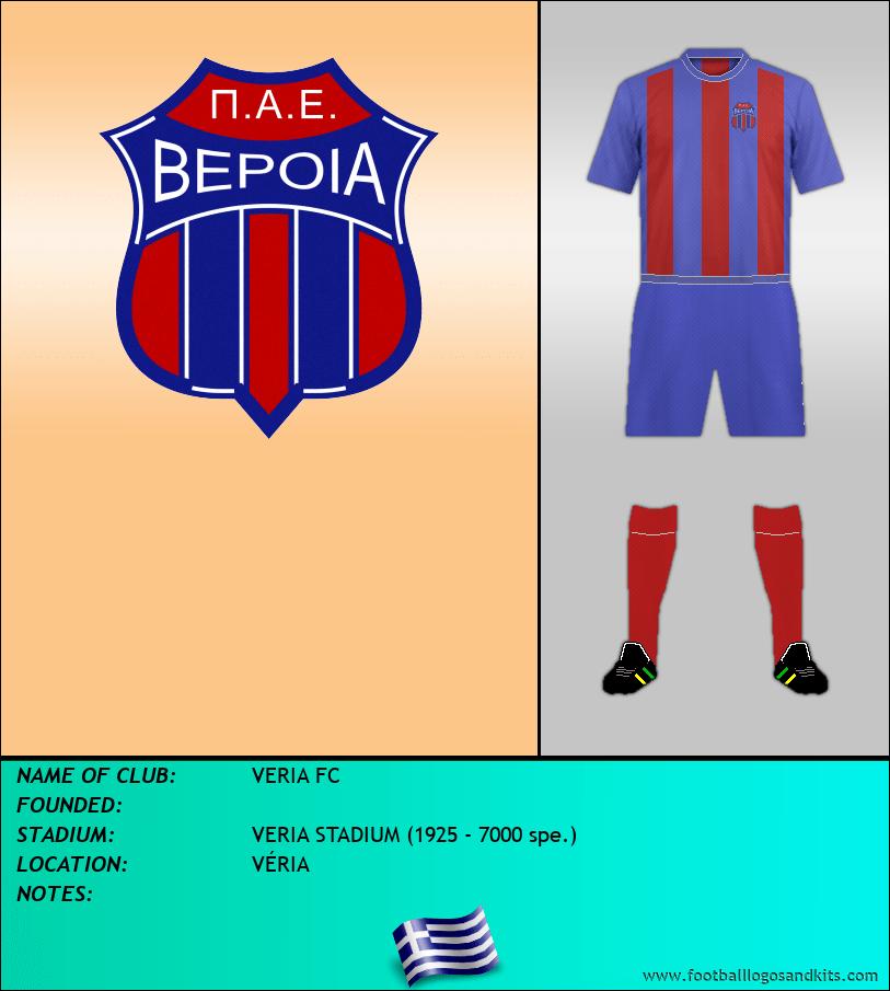 Logo of VERIA FC