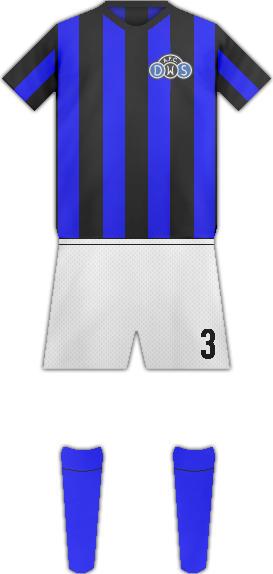Kit D.W.S. AMSTERDAMFC