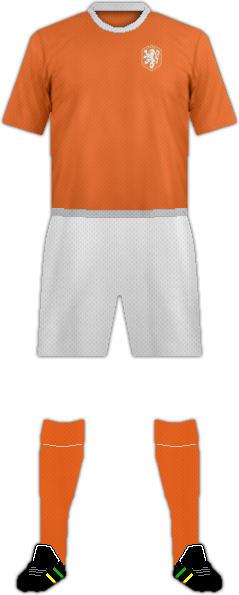 Kit HOLLAND NATIONAL FOOTBALL TEAM