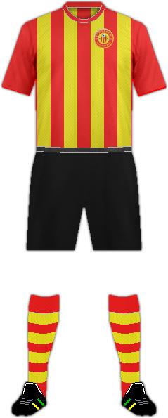 Kit VV TER LEEDE FC