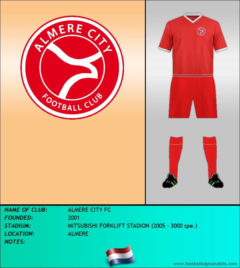 Logo of ALMERE CITY FC