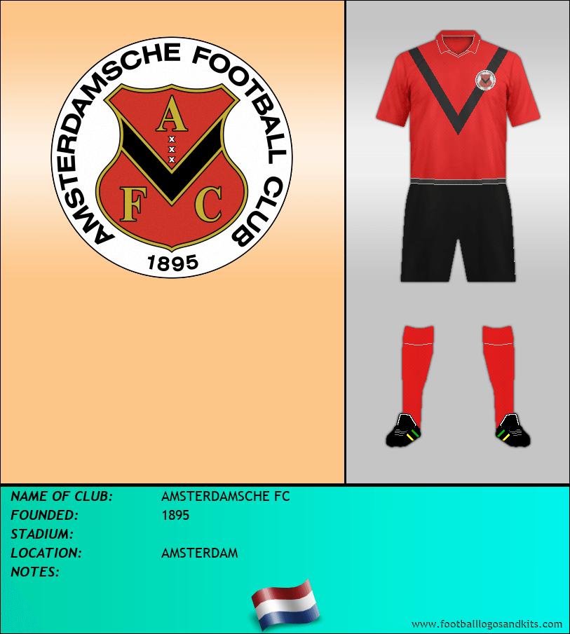 Logo of AMSTERDAMSCHE FC