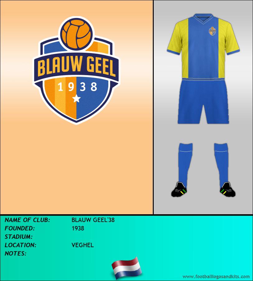 Logo of BLAUW GEEL'38