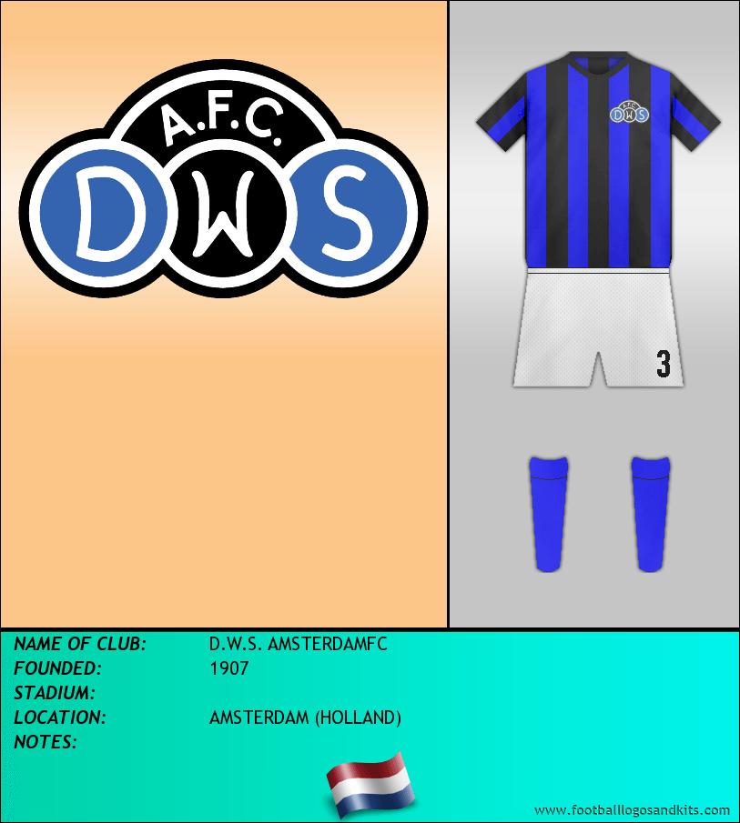 Logo of D.W.S. AMSTERDAMFC