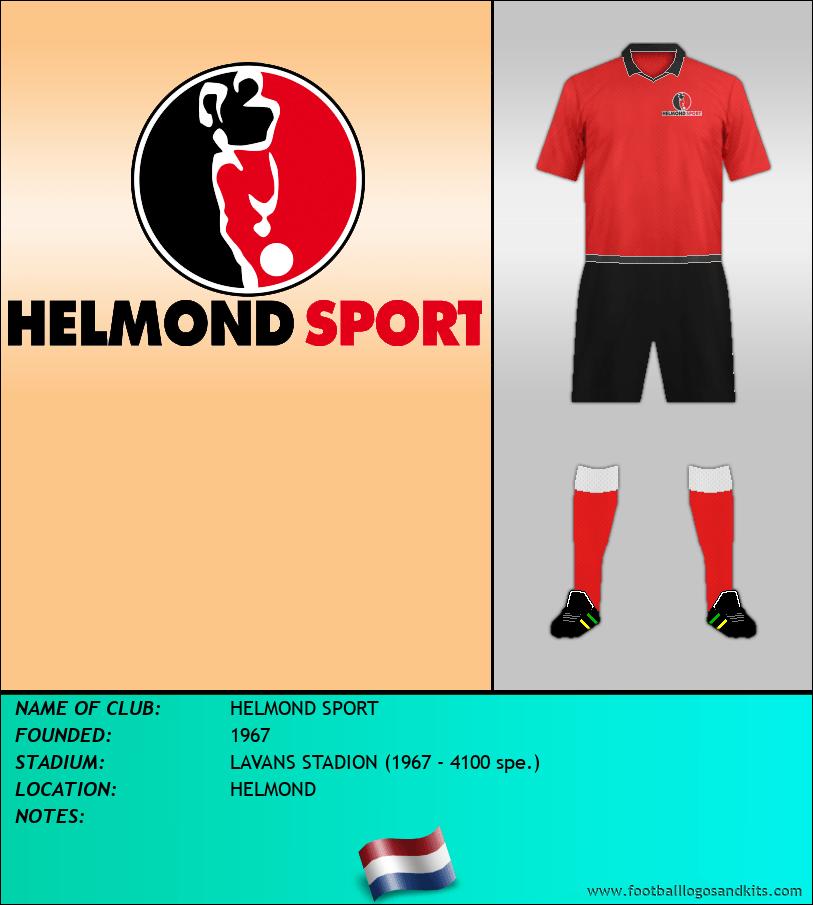 Logo of HELMOND SPORT