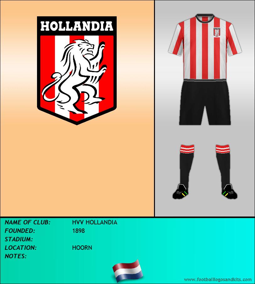 Logo of HVV HOLLANDIA