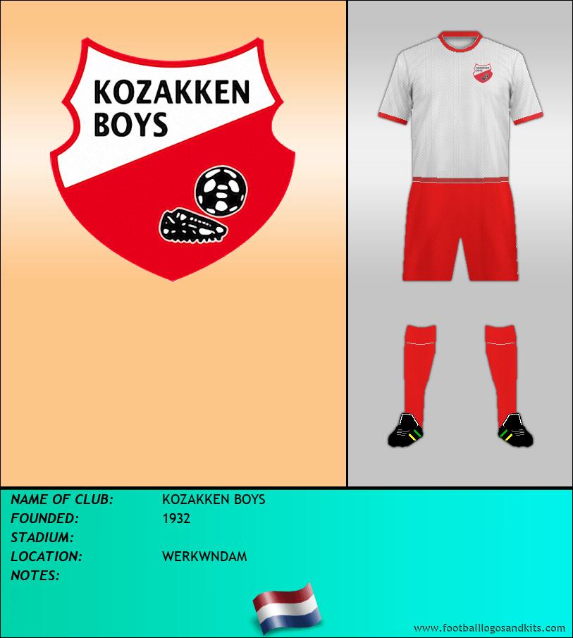 Logo of KOZAKKEN BOYS