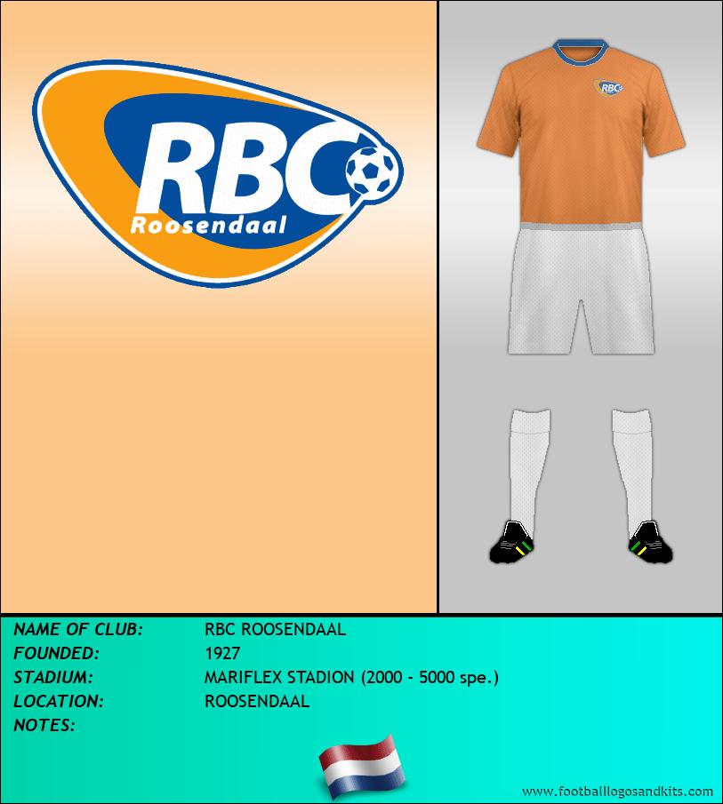 Logo of RBC ROOSENDAAL
