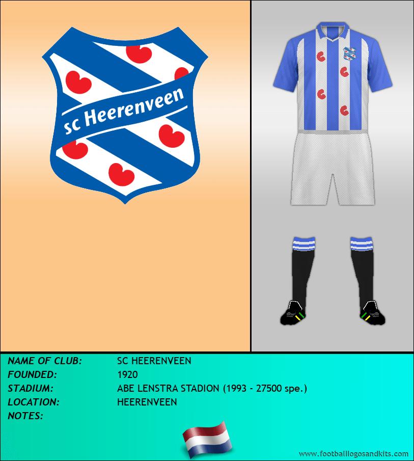 Logo of SC HEERENVEEN