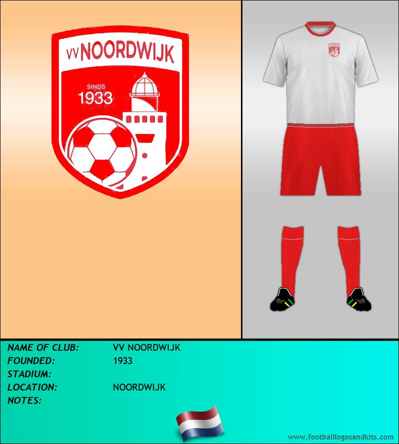 Logo of VV NOORDWIJK