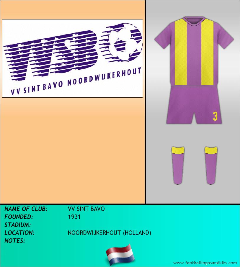 Logo of VV SINT BAVO