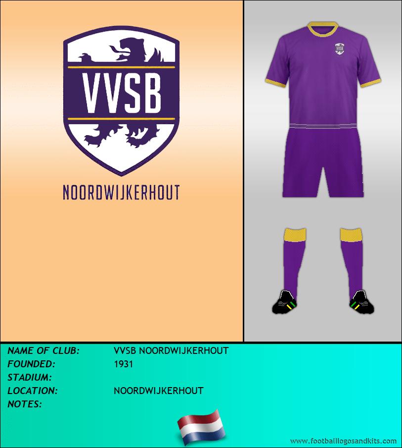 Logo of VVSB NOORDWIJKERHOUT
