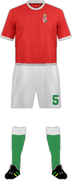 Kit HUNGARY NATIONAL FOOTBALL TEAM