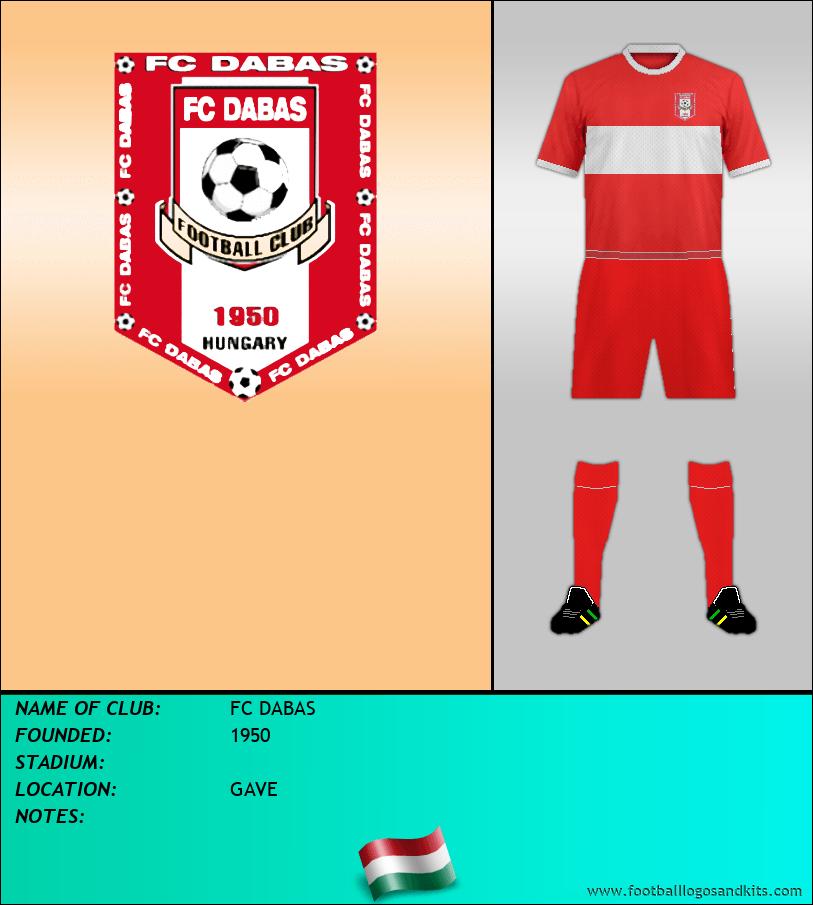 Logo of FC DABAS