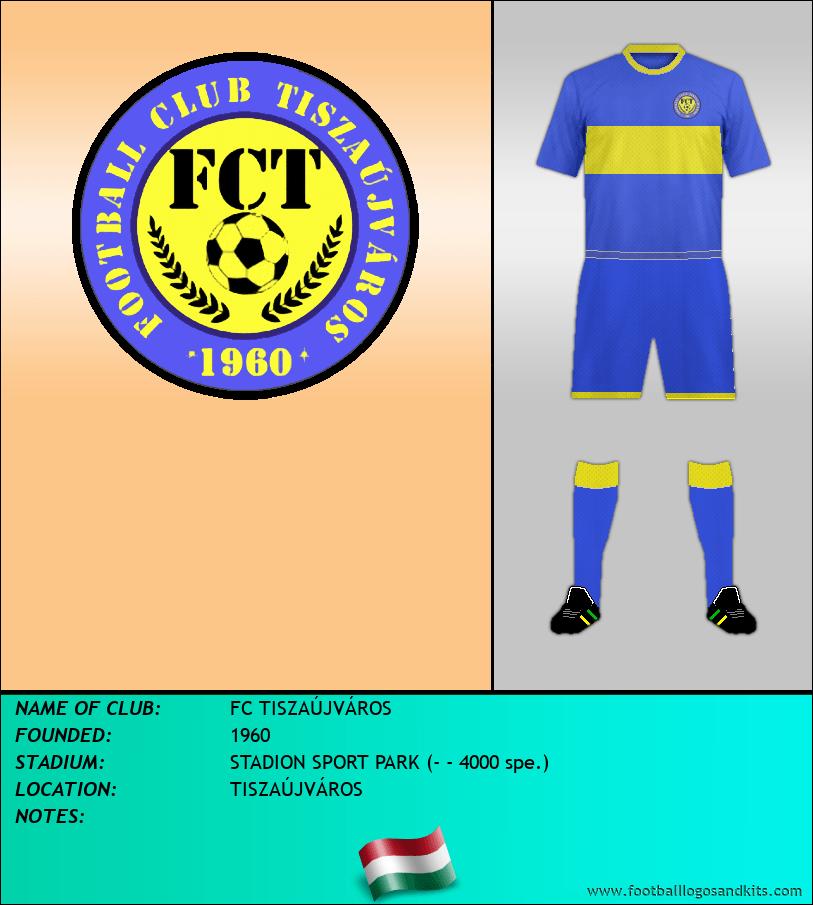 Logo of FC TISZAÚJVÁROS