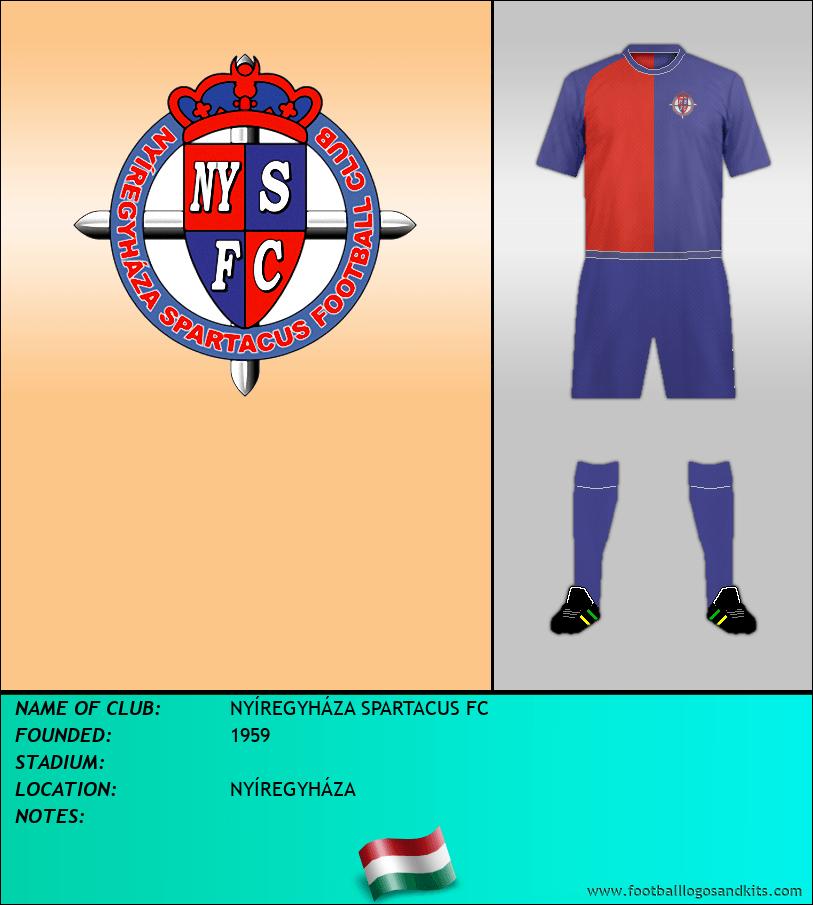 Logo of NYÍREGYHÁZA SPARTACUS FC