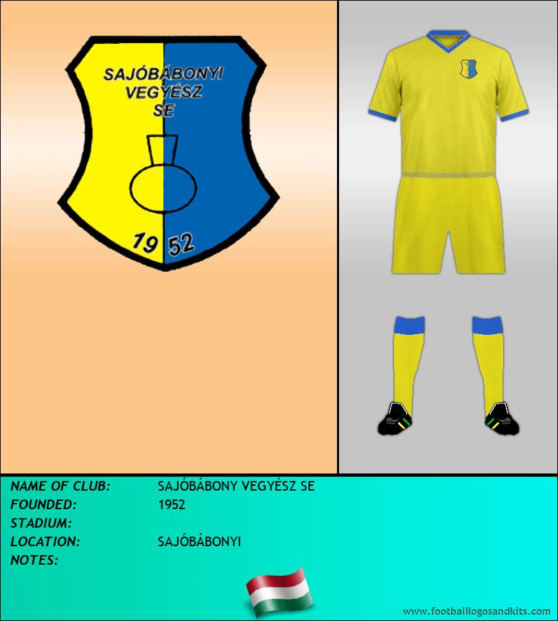 Logo of SAJÓBÁBONY VEGYÉSZ SE