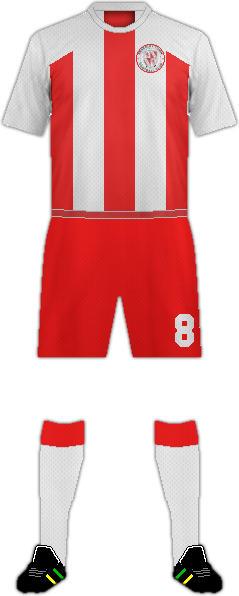 Kit BRACKLEY TOWN F.C.