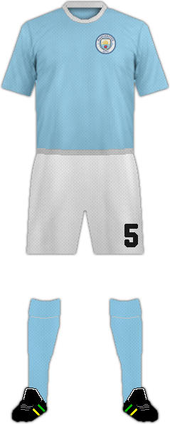 Kit MANCHESTER CITY FC