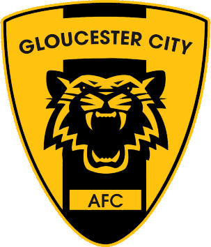 Logo of GLOUCESTER CITY AFC. (ENGLAND)