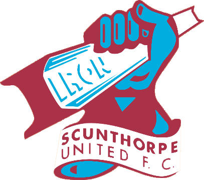 Logo of SCUNTHORPE UNITED FC (ENGLAND)