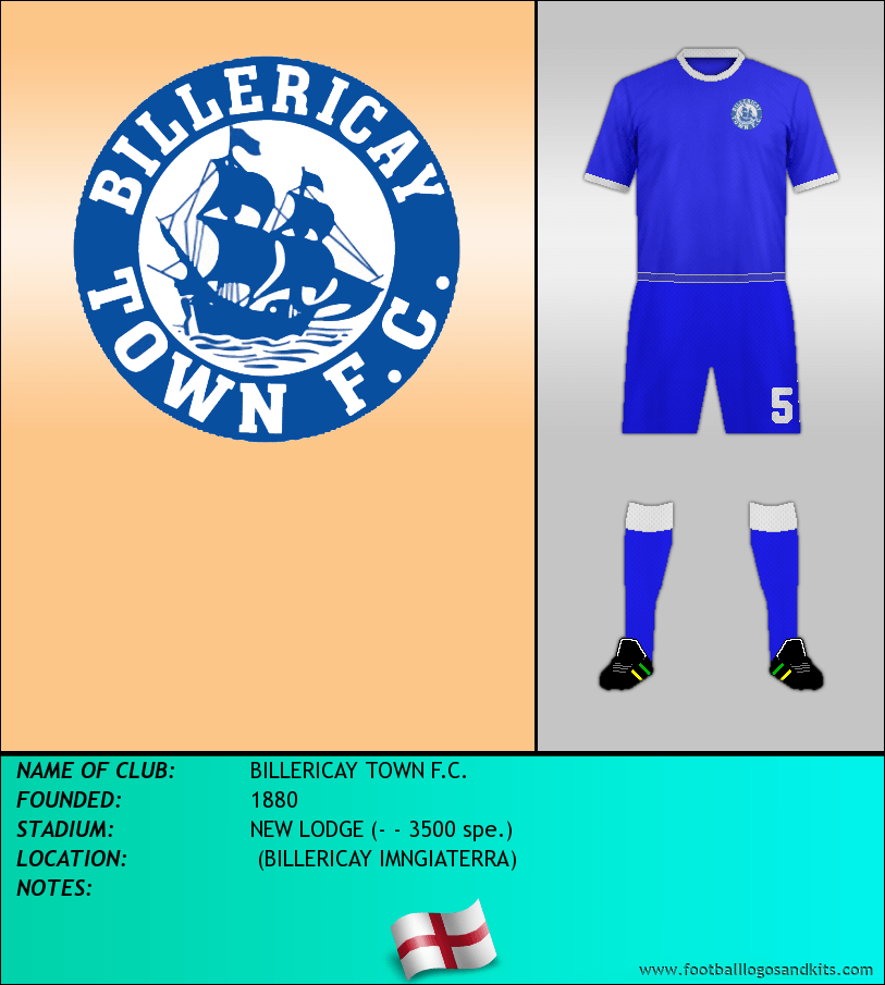 Logo of BILLERICAY TOWN F.C.