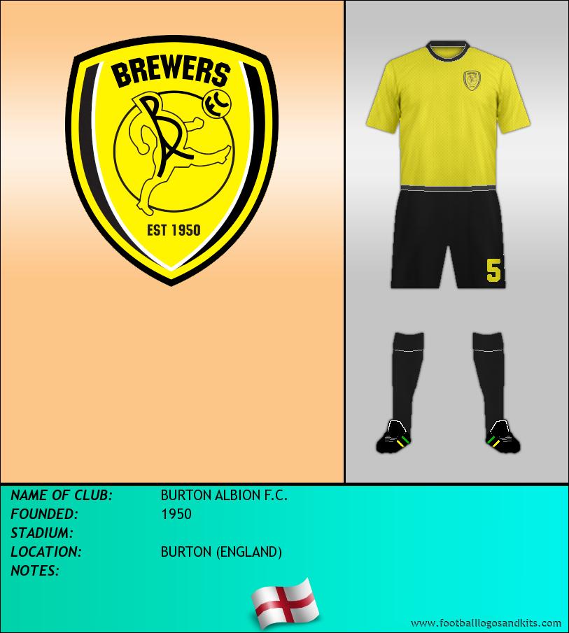 Logo of BURTON ALBION F.C.