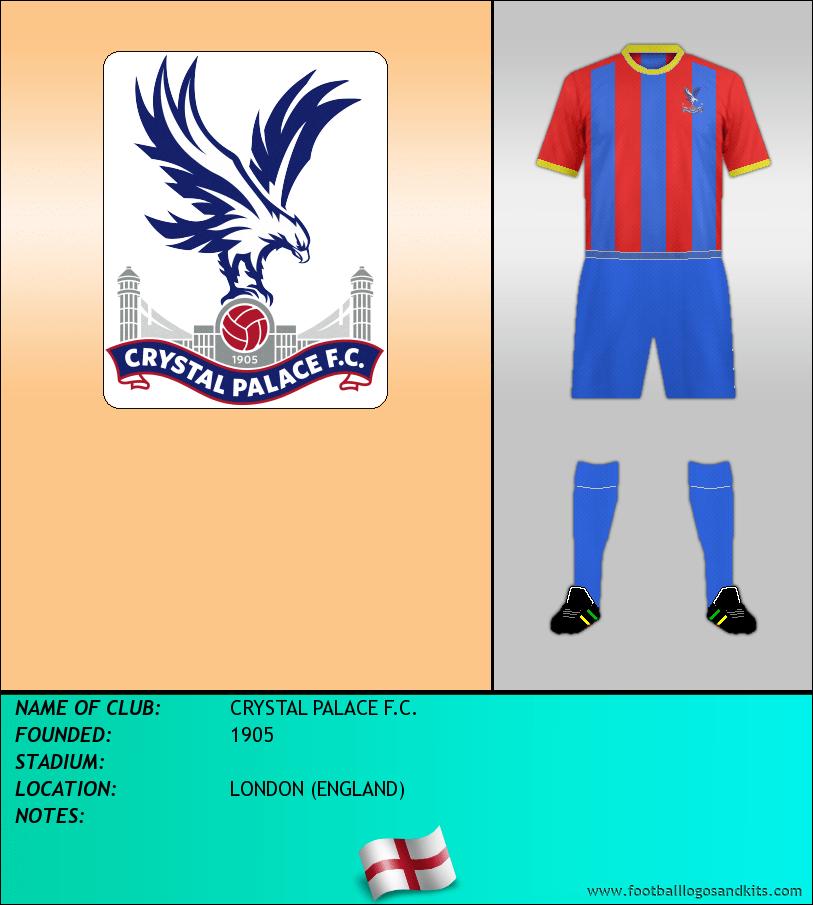 Logo Of Crystal Palace F C