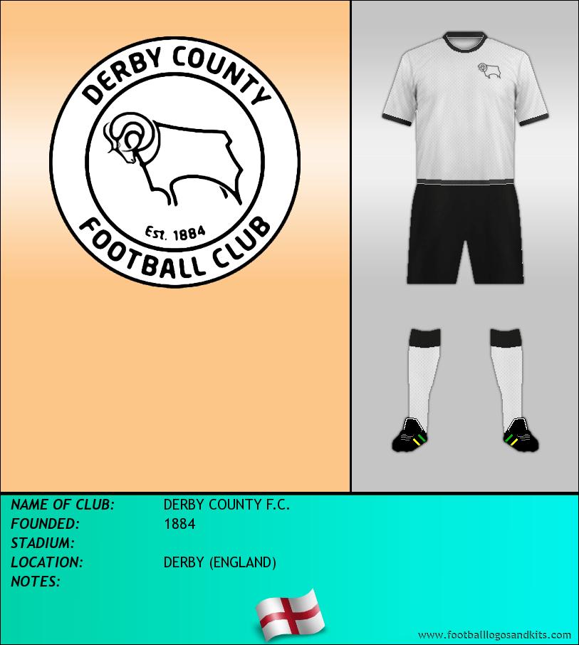 Logo of DERBY COUNTY F.C.