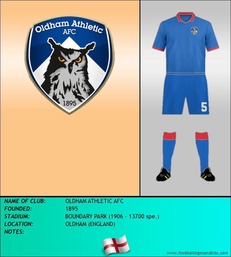 Logo of OLDHAM ATHLETIC AFC