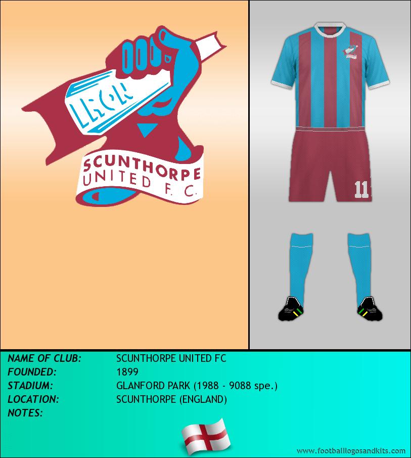 Logo of SCUNTHORPE UNITED FC
