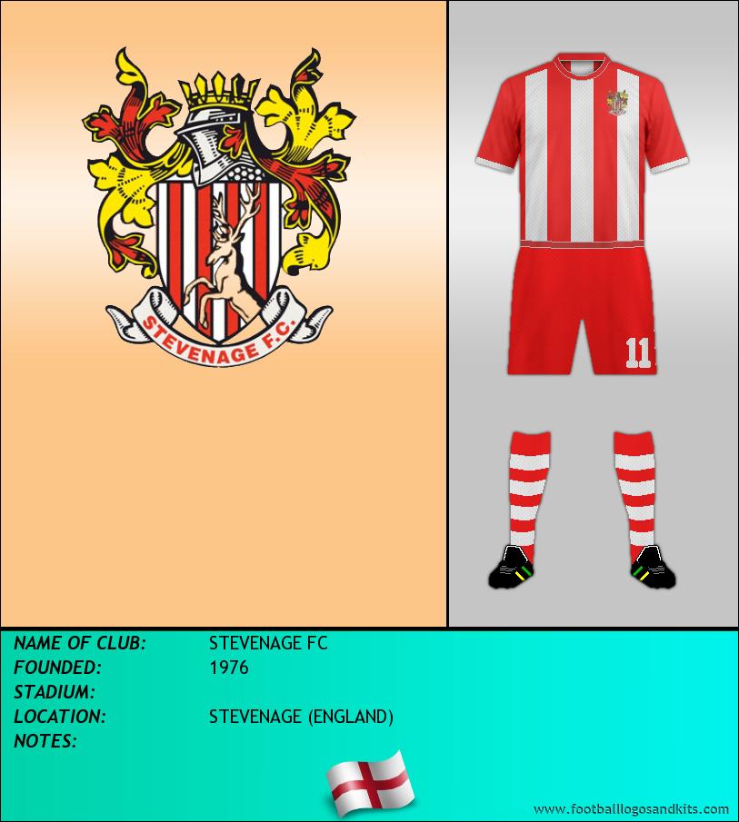 Logo of STEVENAGE FC