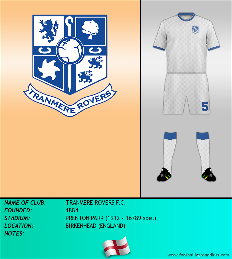 Logo of TRANMERE ROVERS F.C.