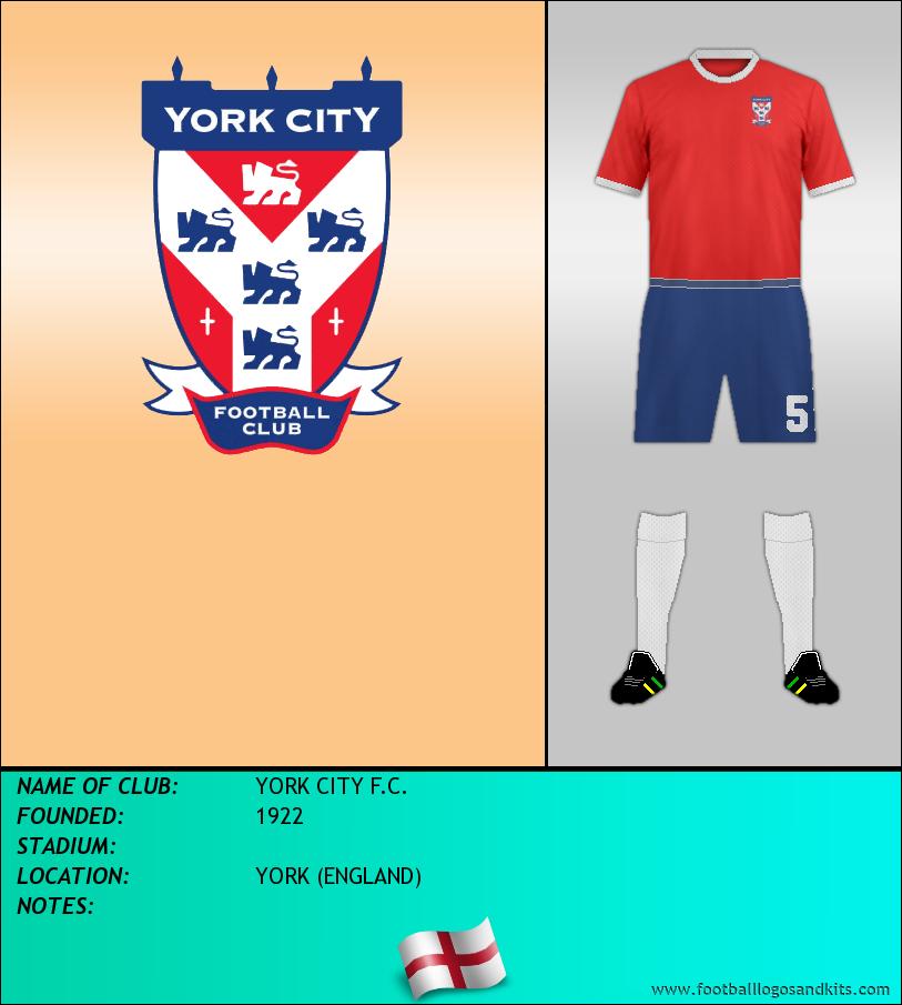 Logo of YORK CITY F.C.