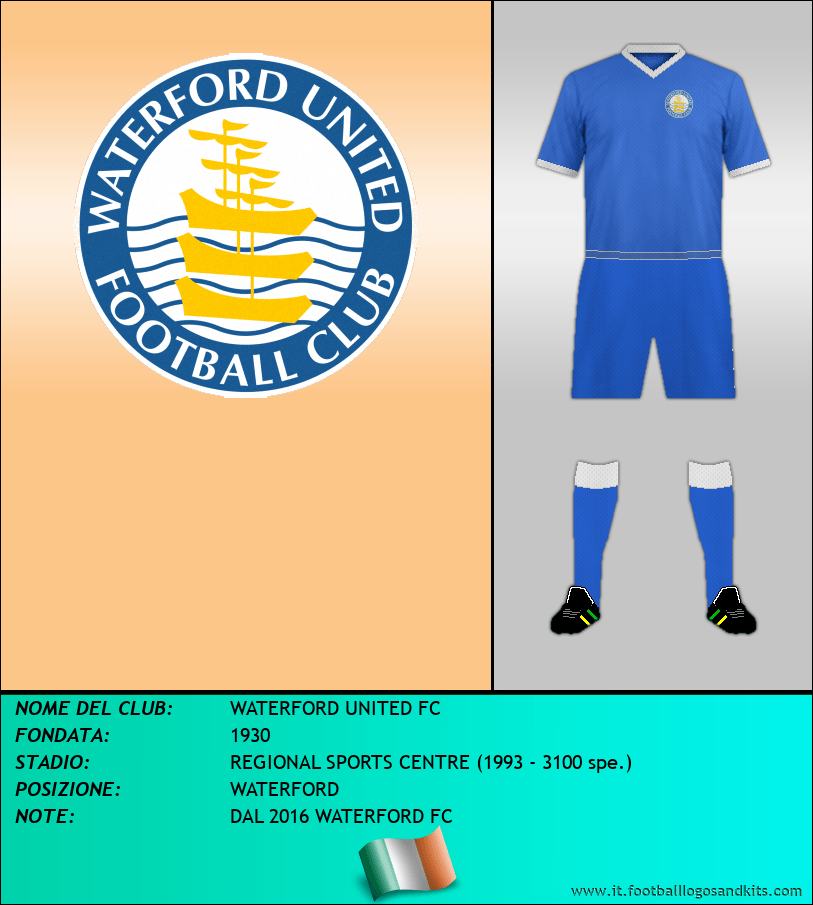 Logo di WATERFORD UNITED FC