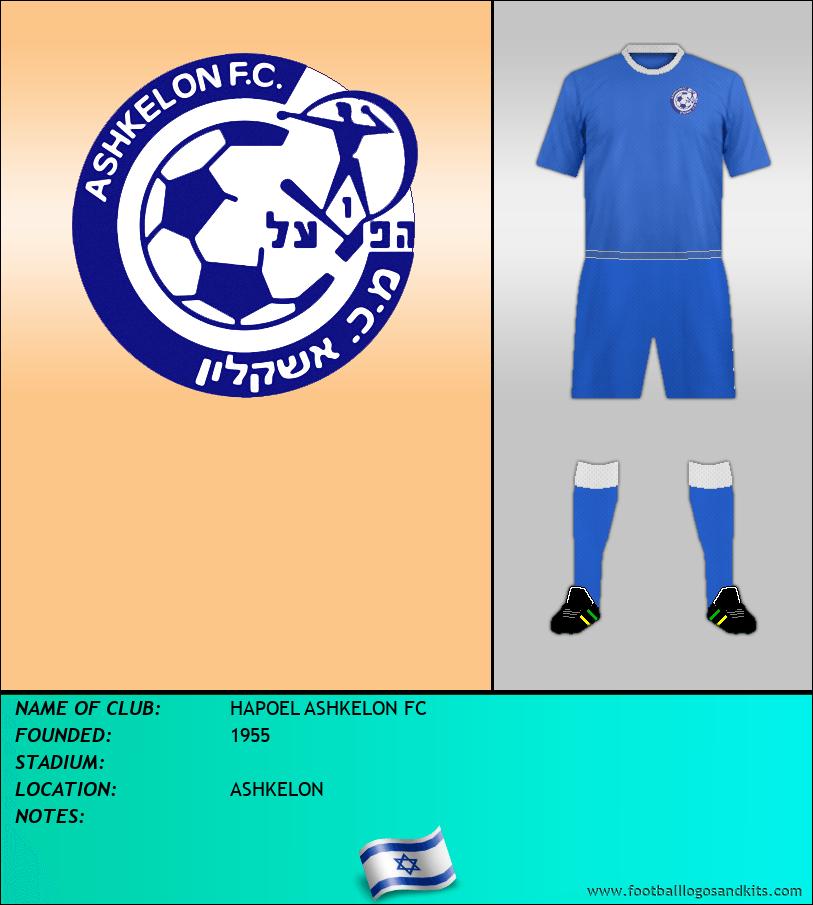Logo of HAPOEL ASHKELON FC