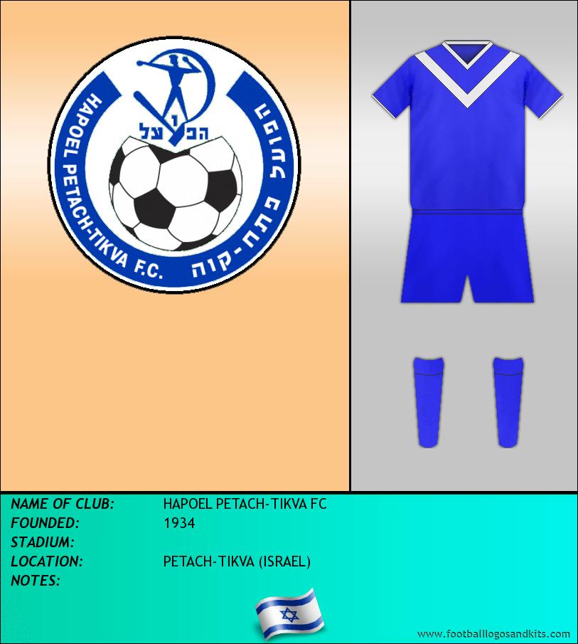 Logo of HAPOEL PETACH-TIKVA FC
