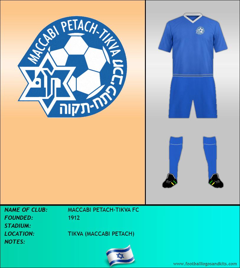 Logo of MACCABI PETACH-TIKVA FC