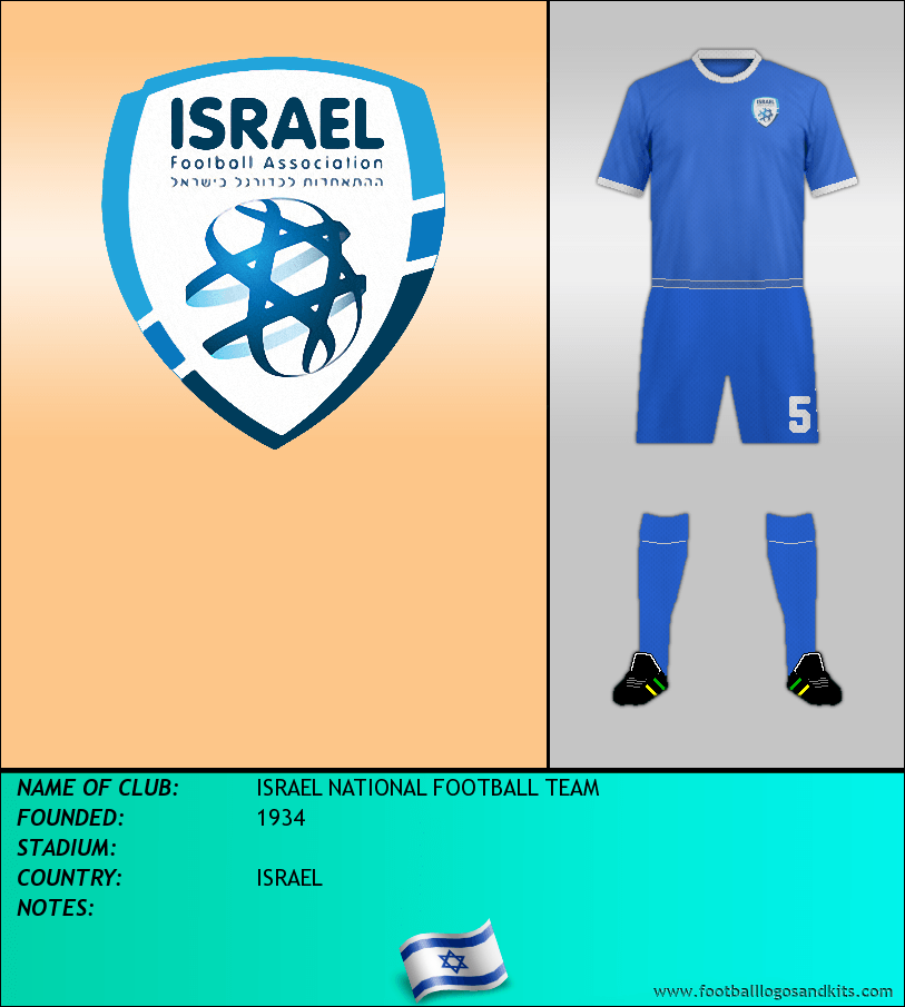 Logo of ISRAEL NATIONAL FOOTBALL TEAM