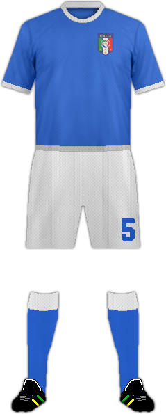 Kit ITALY NATIONAL FOOTBALL TEAM