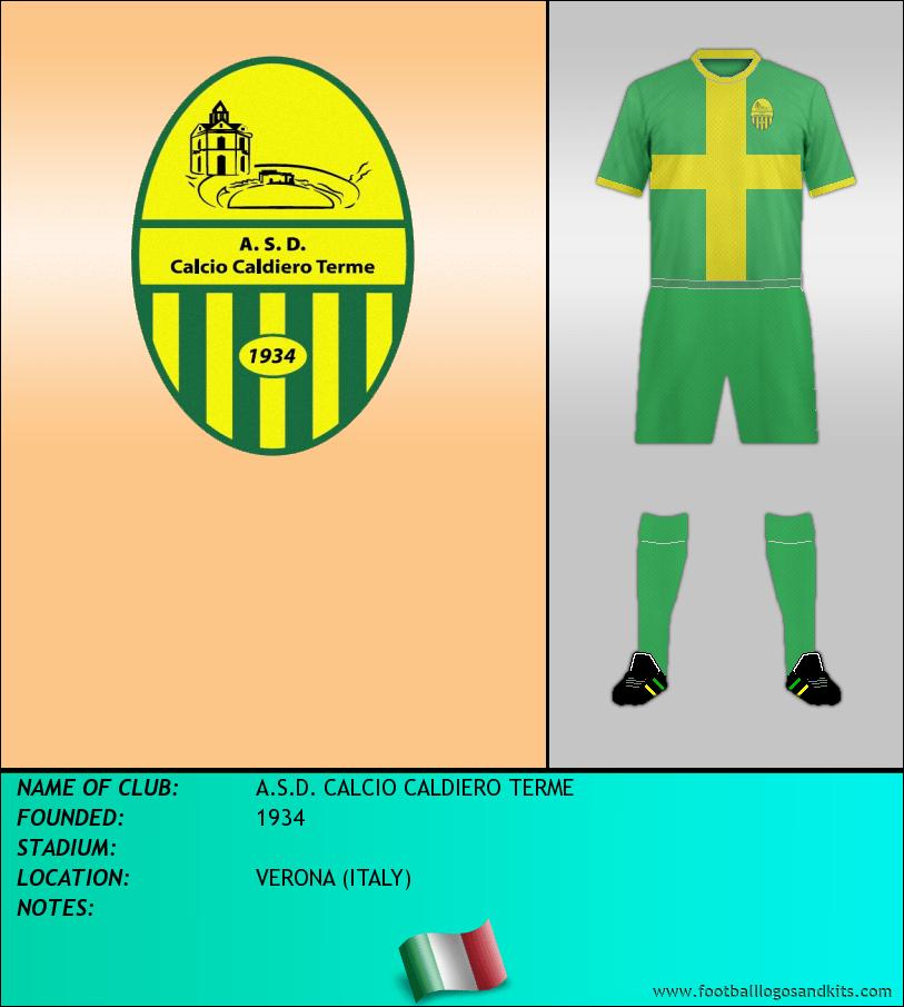 Logo of A.S.D. CALCIO CALDIERO TERME