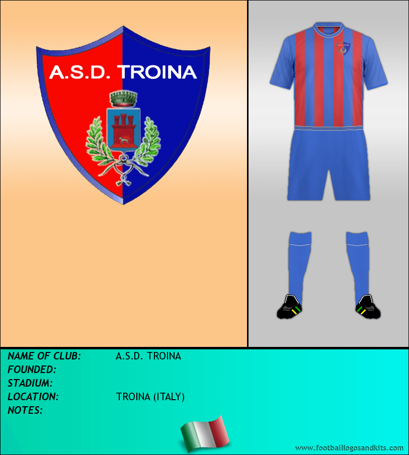 Logo of A.S.D. TROINA