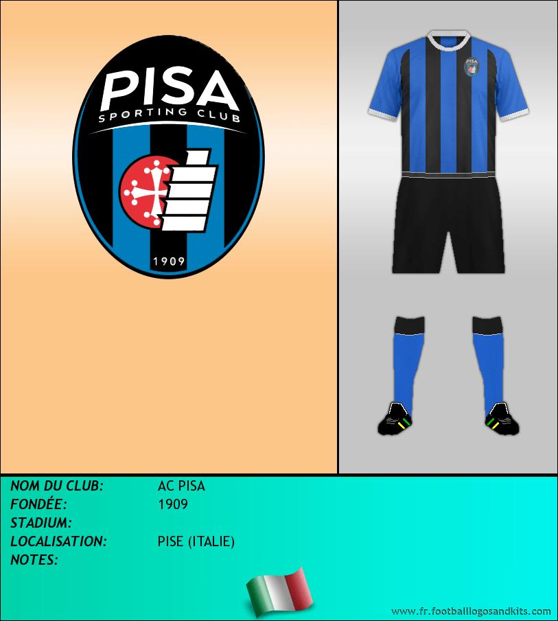 Logo de AC PISA