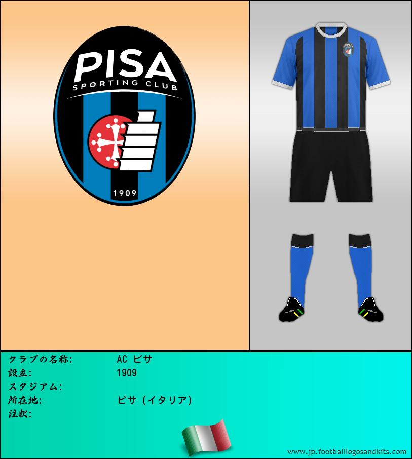 のロゴAC ピサ