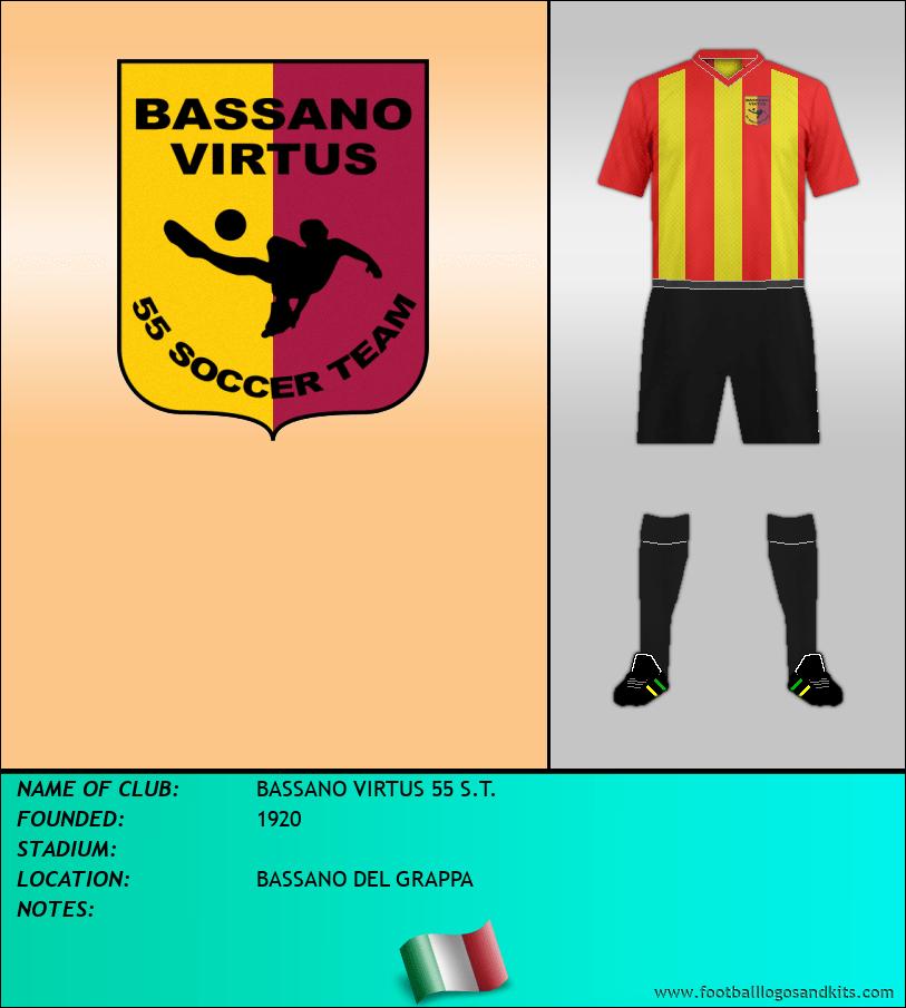 Logo of BASSANO VIRTUS 55 S.T.