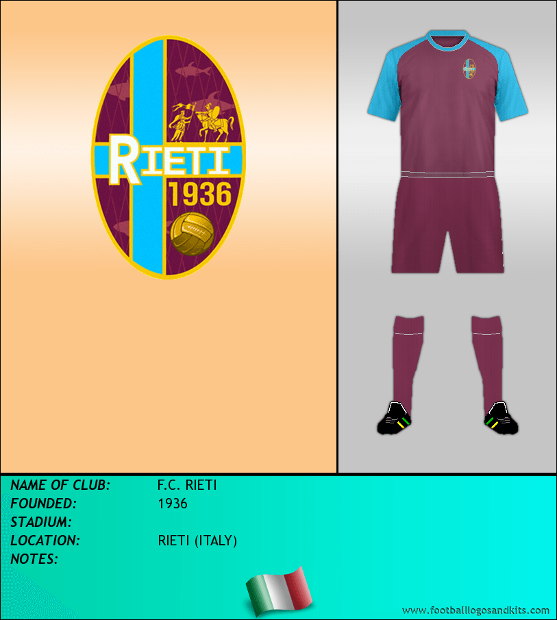 Logo of F.C. RIETI