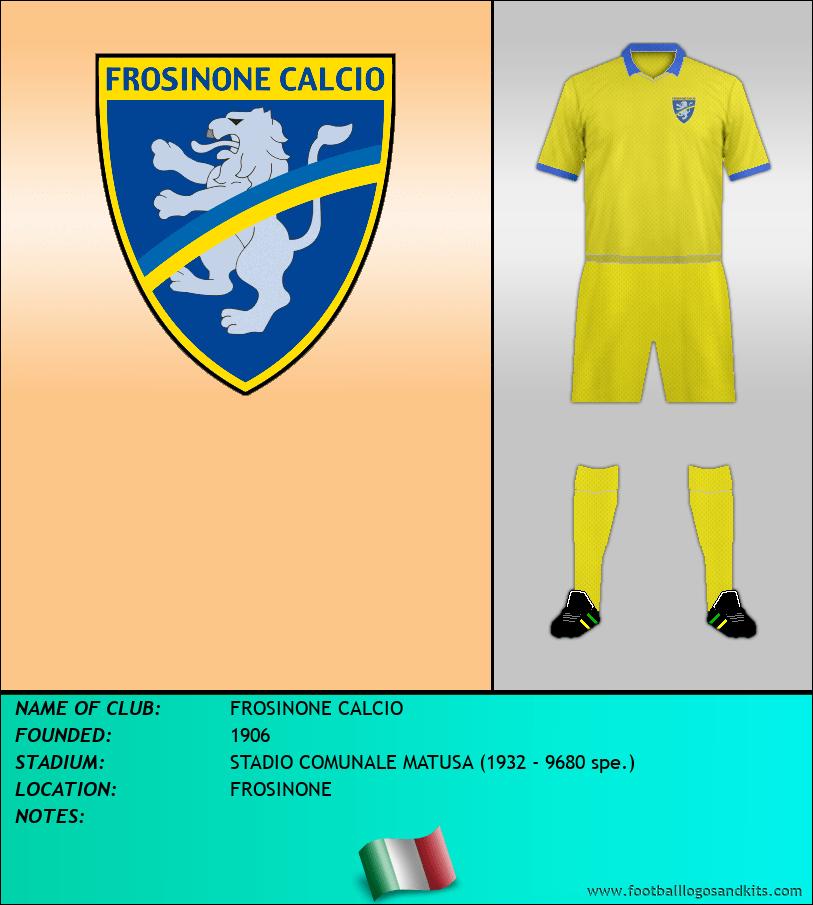 Logo of FROSINONE CALCIO