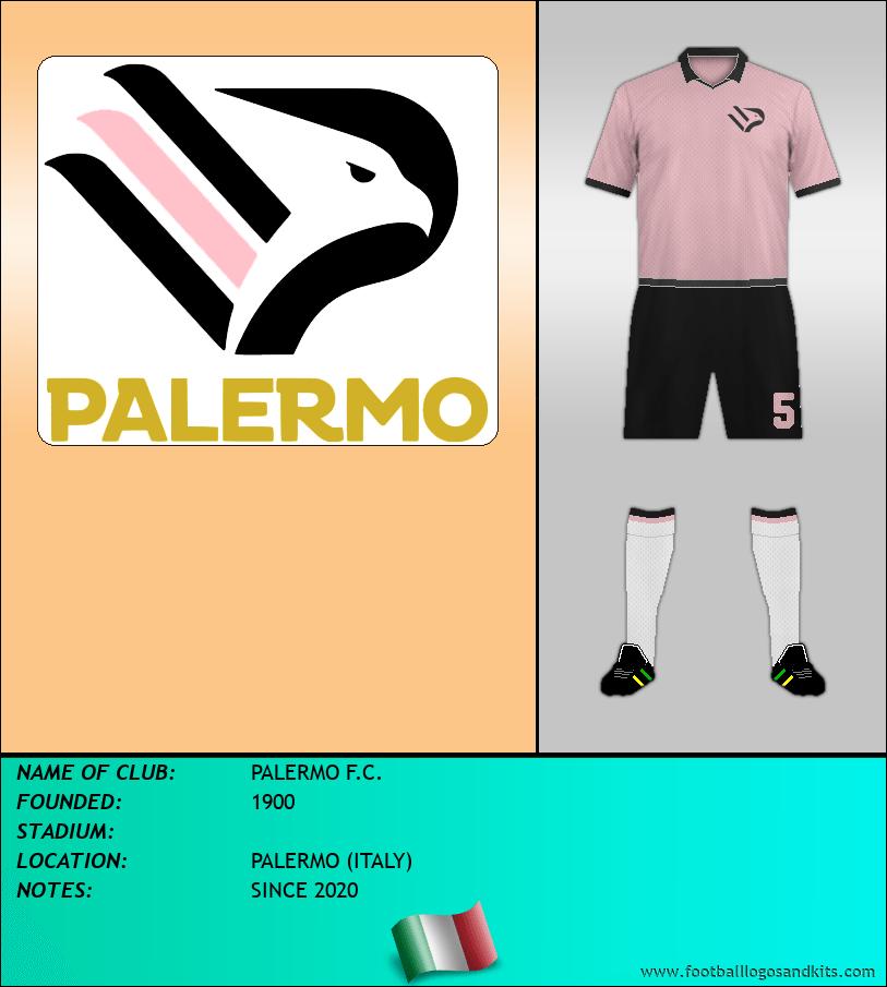 Logo of PALERMO F.C.